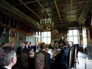 Møde i Roskilde Kloster 20. oktober 2012.