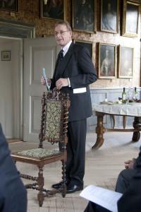 Kommendator Hubertus von Mettingh Graf von Luckner, leder af Johanniterordenens kommanderi i Slesvig-Holsten, fortæller om kommanderiets arbejde.