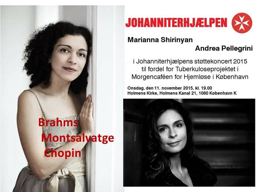 Johanniterhjælpen_Støttekoncert 2015
